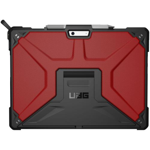 Metropolis Bookcase voor Microsoft Surface Pro X - Rood