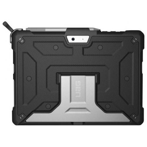 Metropolis Booktype voor Microsoft Surface Go - Zwart