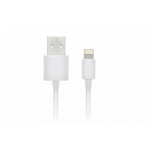 MFI Certified Lightning naar USB-kabel 1 meter - Wit
