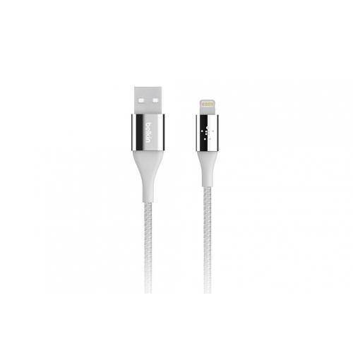 Mixit Kevlar Lightning naar USB-kabel 1,2 meter - Zilver