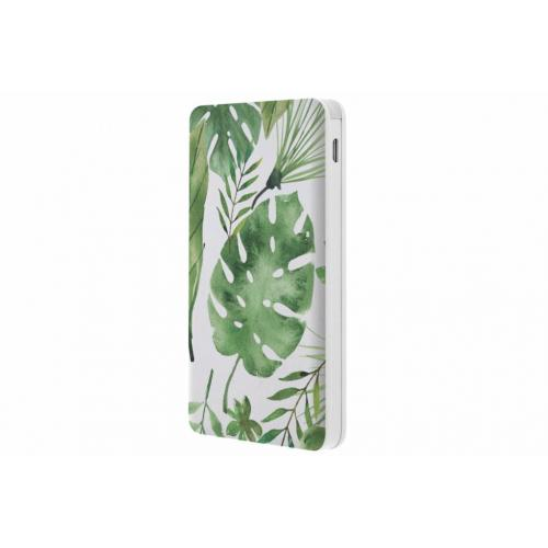 Monstera design Powerbank - 5000 mAh