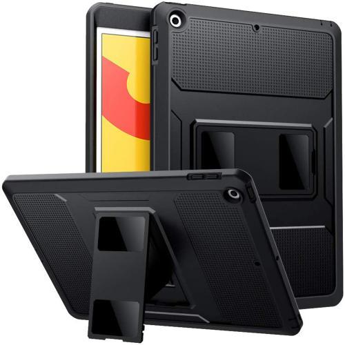Rugged Back Case voor de iPad 10.2 (2019 / 2020) - Zwart