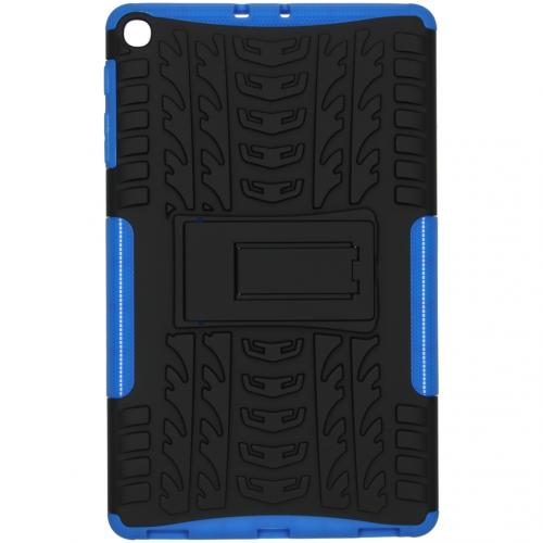 Rugged Hybrid Backcover voor de Samsung Galaxy Tab A 10.1 (2019) - Blauw