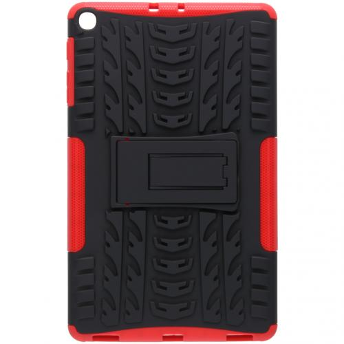 Rugged Hybrid Backcover voor de Samsung Galaxy Tab A 10.1 (2019) - Rood