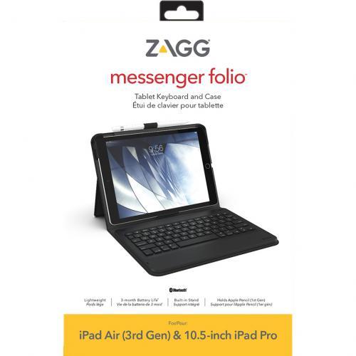 Rugged Messenger Case voor de iPad 10.2 (2019) / iPad Air 10.5 / iPad Pro 10.5