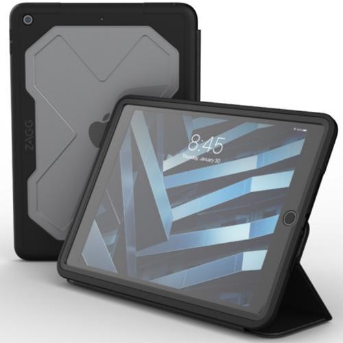 Rugged Messenger Case voor de iPad 10.2 (2019) - Zwart