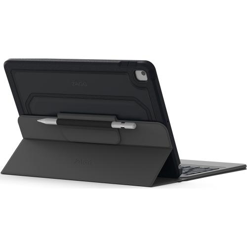 Rugged Messenger Keyboard Case voor de iPad 10.2 (2019) - Grijs