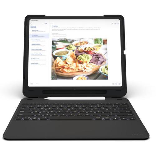 Rugged Messenger Keyboard Case voor de iPad Pro 11 (2018) - Zwart