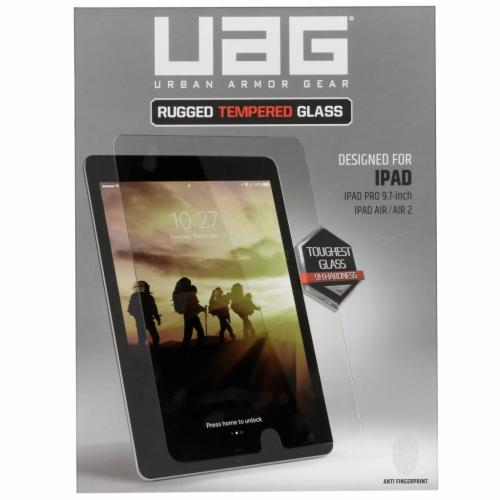 Rugged Tempered Glass Screenprotector voor iPad Pro 9.7 - Transparant