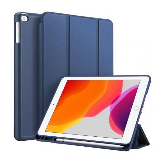 Smart Silicone Bookcase voor de iPad 10.2 (2019 / 2020) - Blauw