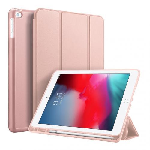 Smart Silicone Bookcase voor de iPad (2018) / (2017) / Pro 9.7 / Air (2) - Rosé Goud