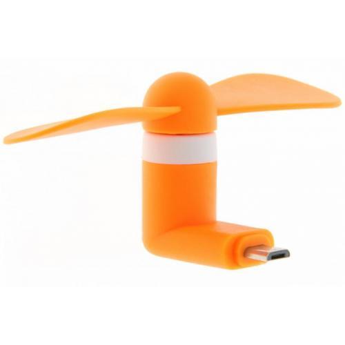 Smartphone ventilator Micro-USB - Oranje