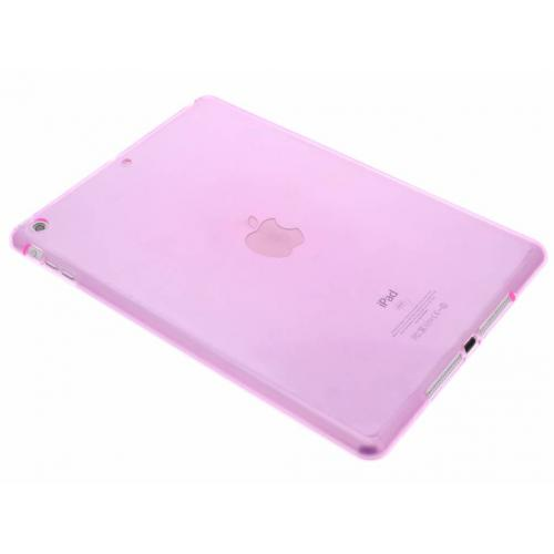 Softcase Backcover voor iPad Air - Roze
