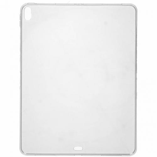 Softcase Backcover voor iPad Pro 12.9 (2018) - Transparant