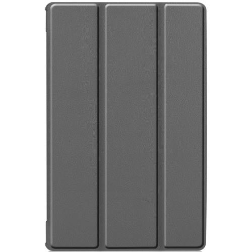 Stand Bookcase voor de Lenovo Tab M10 Plus - Grijs