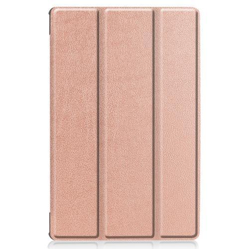 Stand Bookcase voor de Lenovo Tab M10 Plus - Rosé Goud