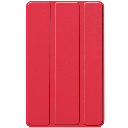 Stand Bookcase voor de Lenovo Tab M7 - Rood