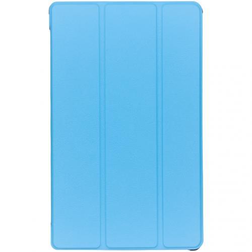 Stand Bookcase voor de Samsung Galaxy Tab A 10.1 (2019) - Lichtblauw