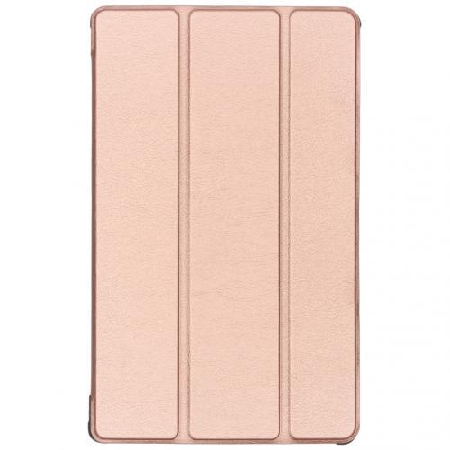 Stand Bookcase voor de Samsung Galaxy Tab A 10.1 (2019) - Rosé Goud