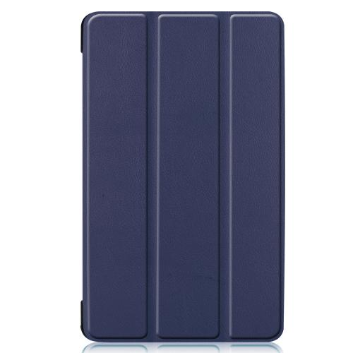 Stand Bookcase voor de Samsung Galaxy Tab A 8.0 (2019) - Donkerblauw