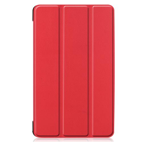 Stand Bookcase voor de Samsung Galaxy Tab A 8.0 (2019) - Rood