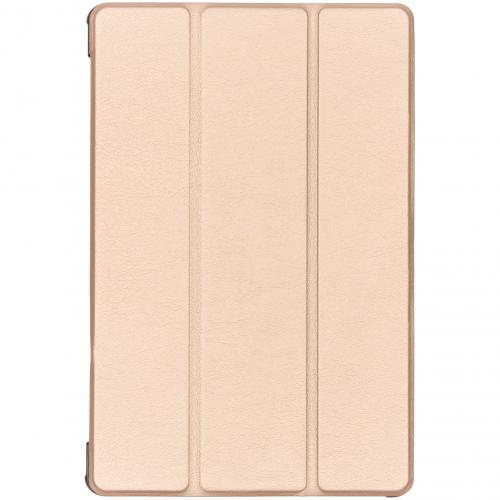 Stand Bookcase voor de Samsung Galaxy Tab S5e - Goud