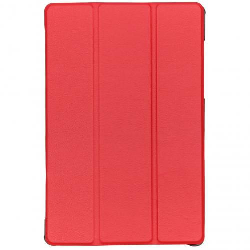 Stand Bookcase voor de Samsung Galaxy Tab S5e - Rood