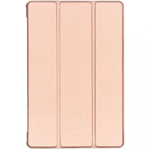 Stand Bookcase voor de Samsung Galaxy Tab S5e - Rosé Goud