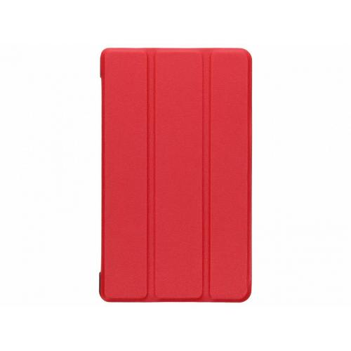 Stand Bookcase voor Huawei Mediapad T3 7 inch - Rood