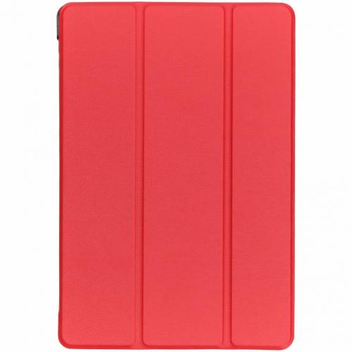 Stand Bookcase voor Huawei MediaPad T5 10.1 inch - Rood