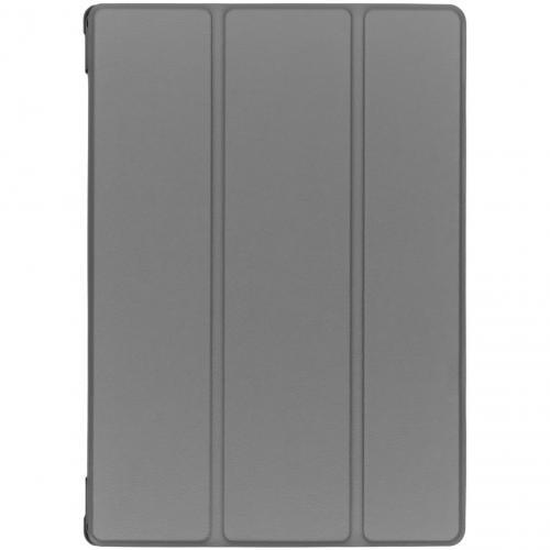 Stijlvolle Bookcase voor de Lenovo Tab M10 - Grijs