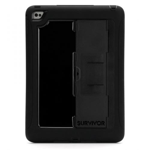 Survivor Slim Backcover voor de iPad Air 2 - Zwart