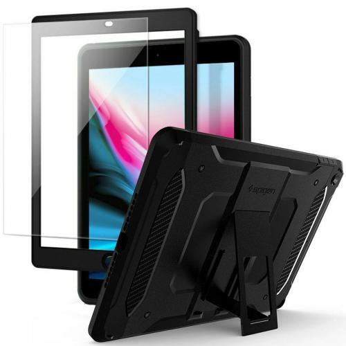 Tough Armor Tech Backcover voor de iPad (2018) / (2017) - Zwart