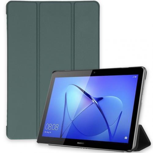 Trifold Bookcase voor de Huawei MediaPad T3 10 inch - Donkergroen