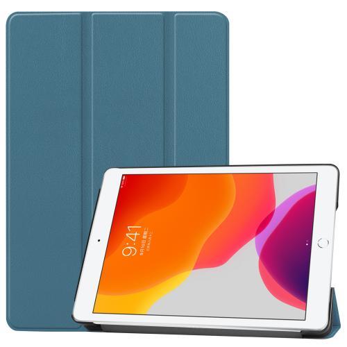 Trifold Bookcase voor de iPad 10.2 (2019 / 2020) - Donkergroen