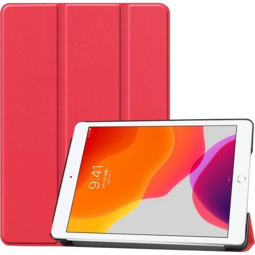 Trifold Bookcase voor de iPad 10.2 (2019) - Rood