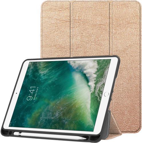 Trifold Bookcase voor de iPad (2018) / (2017) / Air 2 / Air - Rosé Goud