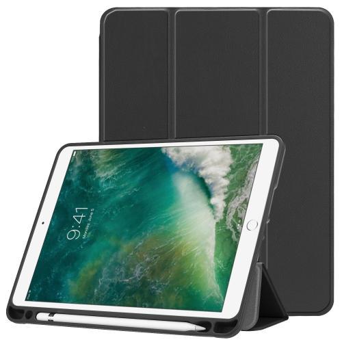 Trifold Bookcase voor de iPad (2018) / (2017) / Air 2 / Air - Zwart