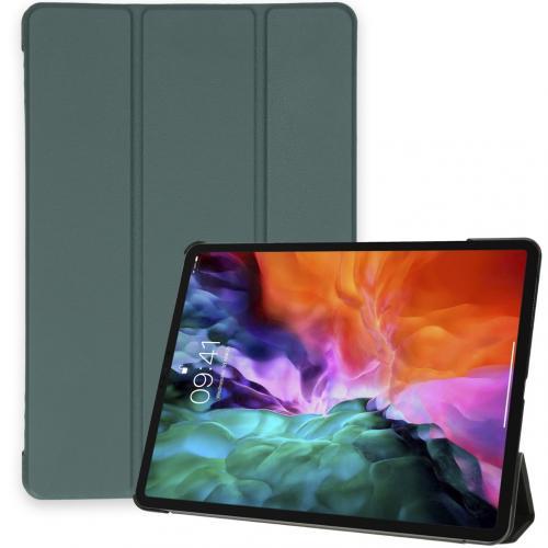Trifold Bookcase voor de iPad Pro 12.9 (2020) / Pro 12.9 (2018) - Donkergroen