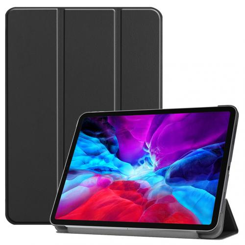 Trifold Bookcase voor de iPad Pro 12.9 (2020) / Pro 12.9 (2018) - Zwart