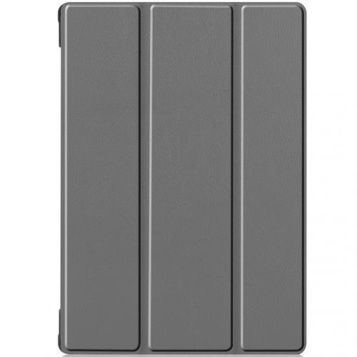 Trifold Bookcase voor de Lenovo Tab M10 - Grijs