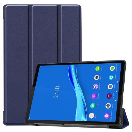 Trifold Bookcase voor de Lenovo Tab M10 Plus / M10 FHD Plus - Donkerblauw