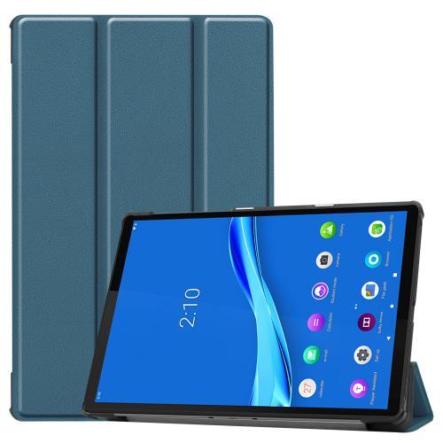 Trifold Bookcase voor de Lenovo Tab M10 Plus / M10 FHD Plus - Donkergroen