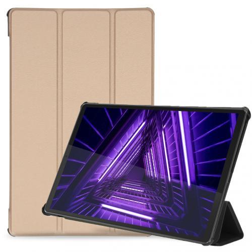 Trifold Bookcase voor de Lenovo Tab M10 Plus / M10 FHD Plus - Goud