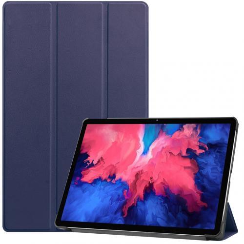 Trifold Bookcase voor de Lenovo Tab P11 - Donkerblauw