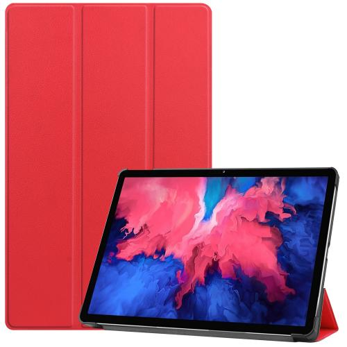 Trifold Bookcase voor de Lenovo Tab P11 - Rood