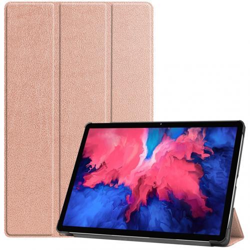 Trifold Bookcase voor de Lenovo Tab P11 - Rosé Goud