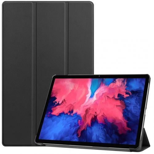 Trifold Bookcase voor de Lenovo Tab P11 - Zwart