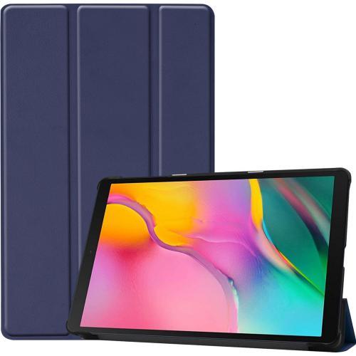 Trifold Bookcase voor de Samsung Galaxy Tab A 10.1 (2019) - Blauw