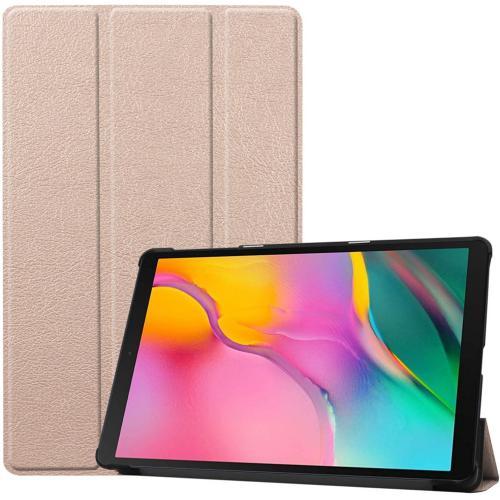 Trifold Bookcase voor de Samsung Galaxy Tab A 10.1 (2019) - Goud